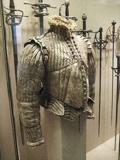 male doublet and breeches 16th Century Fashion, 17th Century Clothing, Armor Clothing, Medieval Clothing, Historical Costume, Historical Clothing, Landsknecht, Period Outfit, Medieval Armor
