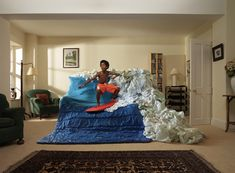 Tim Macpherson - Imagination Million Stars, Funny Photoshop, Glass Breaker, Marriage Life, Recycled Art, Milky Way, Kids House, Leather Sofa, Mind Blown
