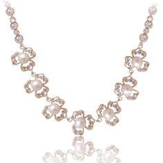 Statement necklace Crystal necklace Wedding by girljewelrys, $9.99