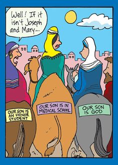 Love it!  Christian humor.