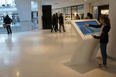 Beaugrenelle shopping centre, interactive wayfinding