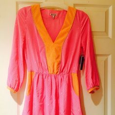 Colorblock Juicy Couture Dress Gorgeous, never been worn Juicy Couture dress in perfect condition Juicy Couture Dresses