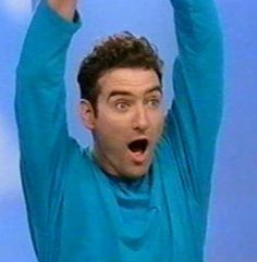 """I got Anthony the Blue Wiggle!: """"You're smart and savvy and the squad would fall apart without you. Hot potato hot potato!"""" Which Original Member Of The Wiggles Are You?"""