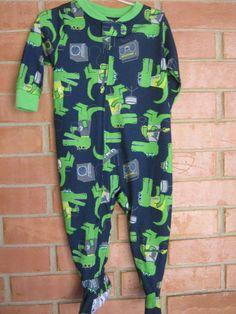 Macacão Pijama Menino Carters Tam 12/meses