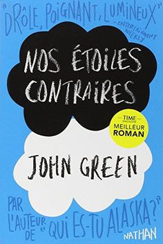 The Fault in Our Stars book by John Green Books To Read In Your Teens, Top Books To Read, Fiction Books To Read, Fantasy Books To Read, Good Books, Reading Lists, Book Lists, Mind Reading Tricks, John Green Books