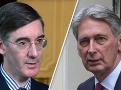 """JACOB REES-MOGG hit out at Philip Hammond over plans to pay a multi-billion EU divorce bill even if Britain leaves the bloc without a trade deal saying the Chancellor is """"factually wrong""""."""
