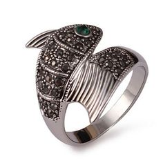 4e2a29c1bc2c Emerald Mermaid Tail Ring