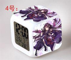 Sword Art Online - Digital Alarm Clock LED 7 Colors