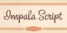 Impala Script™ font download