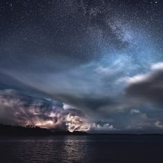 The Show - A Lightning Storm in Kasnäs, Finland 2016 Nature Pictures, Beautiful Pictures, Amazing Photos, Kansas, The Day Will Come, Time Photo, Star Sky, Landscape Photographers, Milky Way