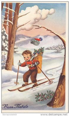1000+ images about Vintage Christmas Cards # 2 on Pinterest   Vintage ...