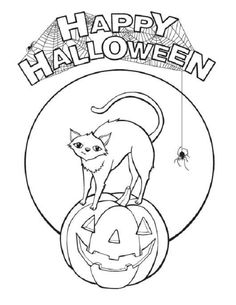 halloween coloring pages elementary school  coloring kids