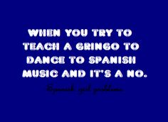 Spanish girl problems