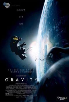 Lego movie poster Gravity