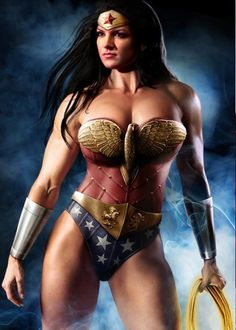 Gina Carano as Wonder Woman. If they ever make a WW movie, she needs to look like this. Beautiful.