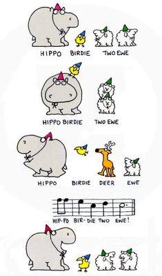 Hippo Birdie Two Ewe...