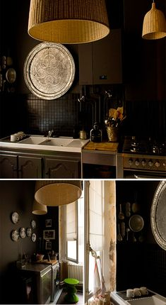 Leave it to the French for great kitchen designs...