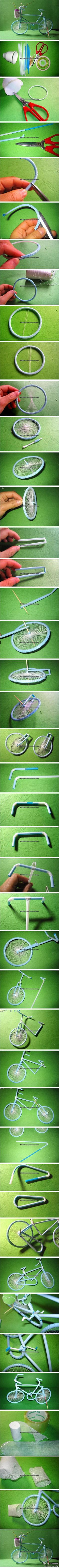 Bicycle tutorial - amazing idea