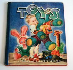 Vintage Toys book, 1945 - Little Golden Book