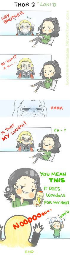 Oh, Loki. You torment him. Love it. Keep it up, honey!