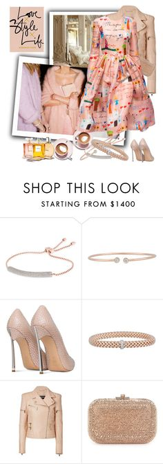 """""""Untitled #577"""" by zdenka ❤ liked on Polyvore featuring Martha Stewart, Monica Vinader, Forevermark, Casadei, Fope, Balmain, Judith Leiber and Dolce&Gabbana"""