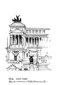 Rome, monument à Victor-Emmanuel   by gerard michel