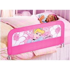 Disney - Princess Sure & Secure Bedrail #disneyprincessWMT - When Emma moves to a toddler bed, this would be too sweet.