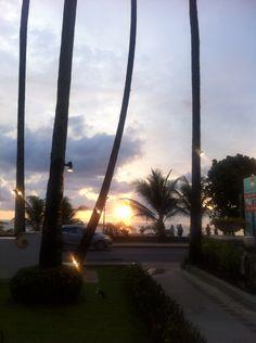 Nice sun set on Karon Beach