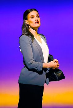Idina Menzel stars in the new Broadway musical If/Then which opens tomorrow at the Richard Rodgers Theatre.