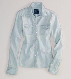 Light denim shirt