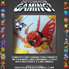 Did You Know Gaming? Meta Knight