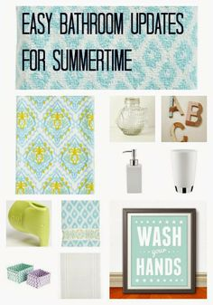 Give Your Bathroom A Fresh Start For Summer