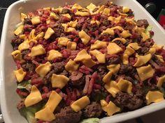 Low Carb Big Mac Salat Rezept - Super lecker und einfach