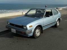 #4 - 1983 Honda Civic 1500 DX - my very first car, all by myself after divorce.  Sweet memories. A new beginning