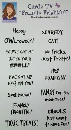 136 best halloween card verses images on pinterest in 2018 artfully sent scaredy cat halloween card cardz tv m4hsunfo