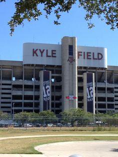 Kyle Field. Pre-demolition.
