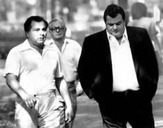 Reputed mobster Joe Massino (right) during the trial of Gene Gotti (left), who was on trial with brother John at Brooklyn Federal Court.   Read more: http://www.nydailynews.com/news/crime/staten-island-mob-snitch-family-free-month-article-1.1438733#ixzz2dkVJX9Ew