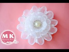 Мастер-класс Канзаши.Лепесток канзаши/DIY.Kanzashi petal - YouTube