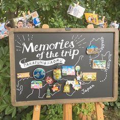 ウェルカムスペースに飾ったのは全国のマグネット! . 旅行好きな私たちは行く先々でマグネットを買うようにしてて、その集めたものを旅の写真と一緒に飾ってみました☺️ .…」