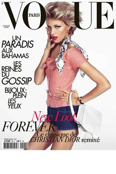 French Vogue Cover - June/July 2009