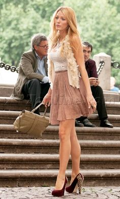 i would wear any single outfit blake lively has ever worn on gossip girl!