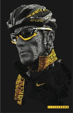 Lance_Armstrong_Typography_by_VEIN