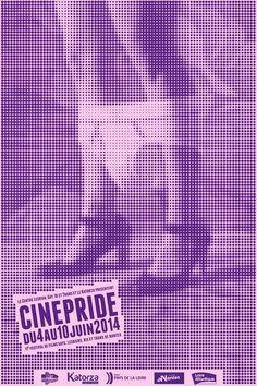 Cinepride 2014, Festival de films gays, lesbiens, bis et trans de Nantes #festival #affiche #affichefestival https://fr.pinterest.com/igreka2n/festival/