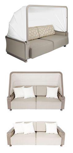 Folding Canopy Sofa