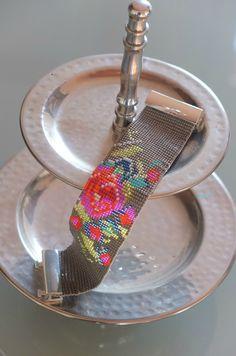 Bracelet tissage perles