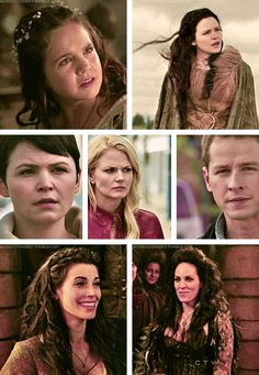 I'm always amazed by the casting on Once Upon a Time. All relatives look alike and they even manage to find kids who look exactly like their older counterparts.