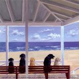 Dogs Eyeview Posters by Carol Saxe
