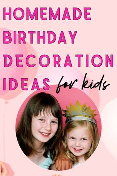 Homemade Birthday Decoration Ideas For Kids - Homemade Party Decorations Homemade Birthday Decorations, Paper Party Decorations, Diy Party, Party Ideas, Paper Balloon, Paper Flower Garlands, How To Make Glitter, Glitter Balloons, Party Pops