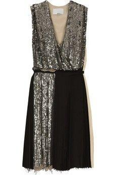 Gorgeous sparkly dress.