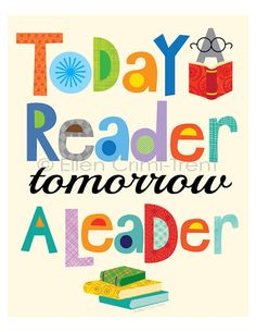 Stupell Industries The Kids Room Today a Reader Tomorrow a Leader Wall Plaque Literacy Quotes, Classroom Quotes, Classroom Posters, Teacher Quotes, Education Quotes, Classroom Decor, Library Posters, Classroom Norms, Preschool Quotes